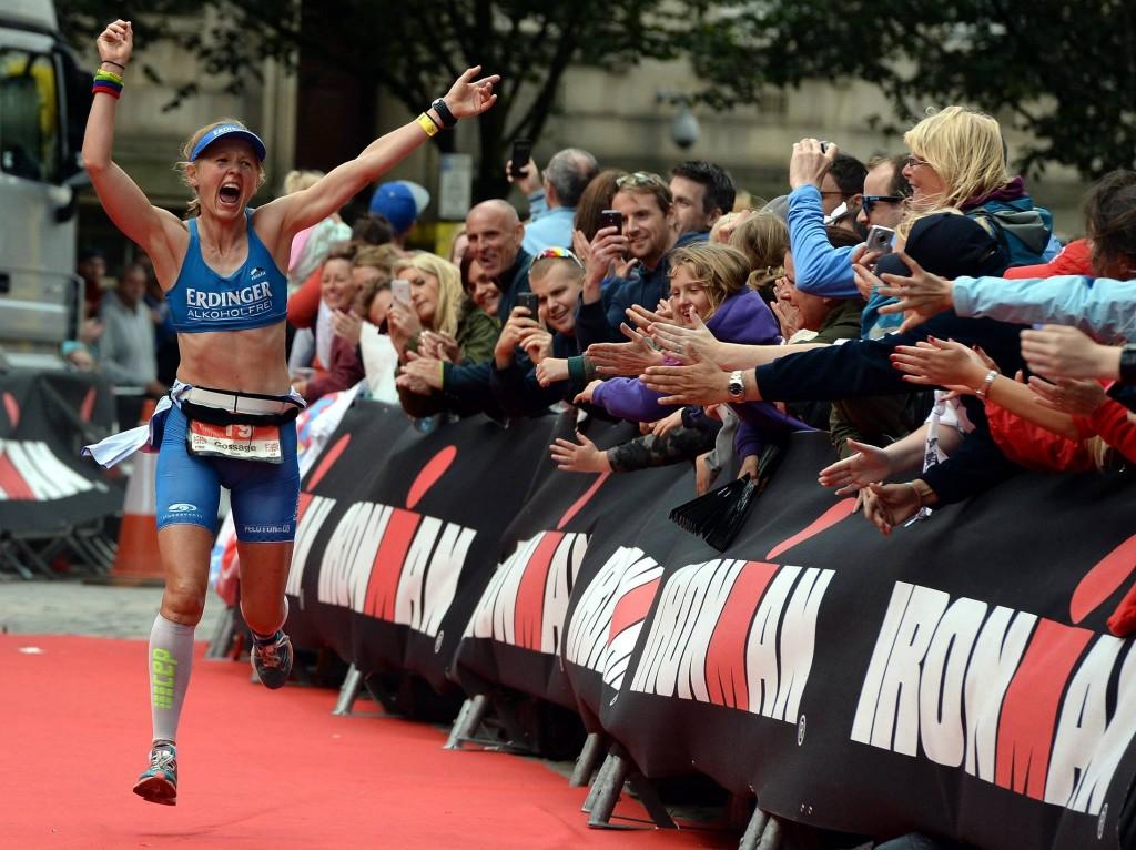 Lucy Gossage wins Ironman UK Bolton 2015
