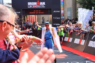 Ironman UK 2016 #doingalucy gossage 16