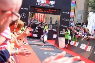 Ironman UK 2016 #doingalucy gossage 6