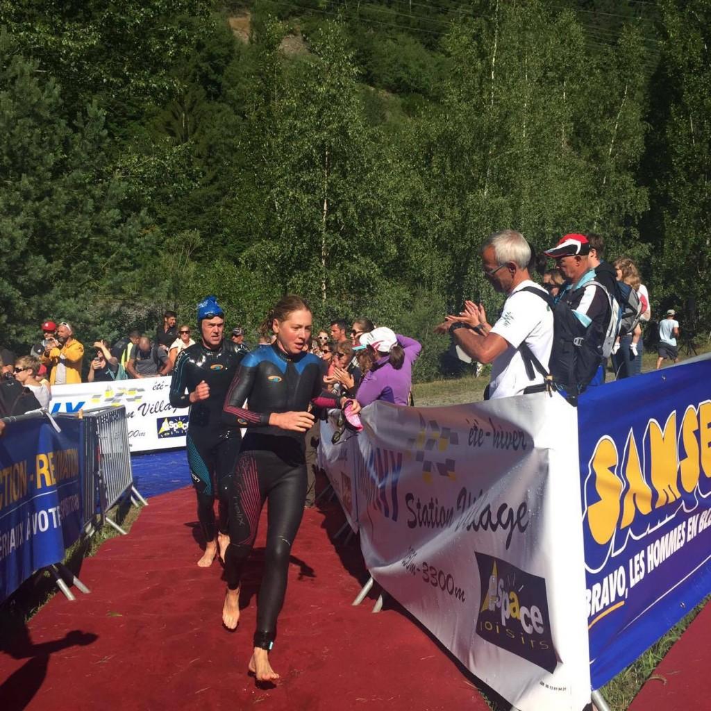 Lucy Gossage Alpe d'huez 2016 - 1
