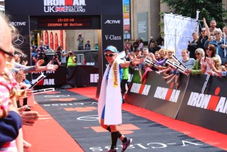 Ironman UK 2016 #doingalucy gossage 15