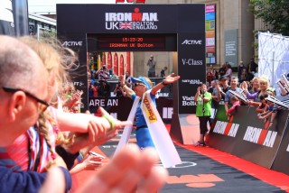 Ironman UK 2016 #doingalucy gossage 17
