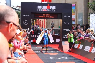 Ironman UK 2016 #doingalucy gossage 18