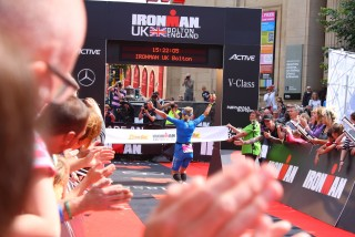 Ironman UK 2016 #doingalucy gossage 4