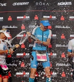 Wales, the best Ironman in the world.